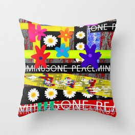 PMO Tape Class - GD's Case Version Throw Pillow