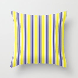 Complementary Series: 1. Purple and Yellow Gradient Throw Pillow
