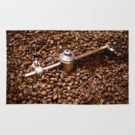 Freshly roasted coffee beans Rug