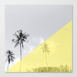 Island vibes - sunny side Canvas Print