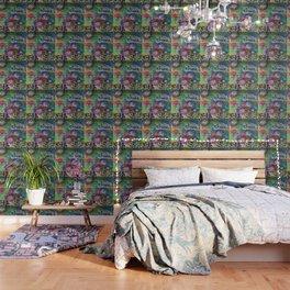 Shine On Teal Wallpaper