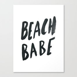 Beach Babe Canvas Print