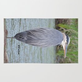 Blue Heron at Hillsboro Pond Rug