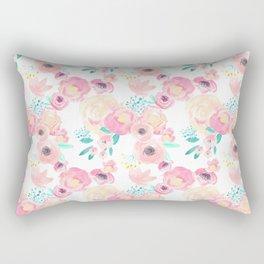Indy Bloom Design Blush Baby Florals Rectangular Pillow