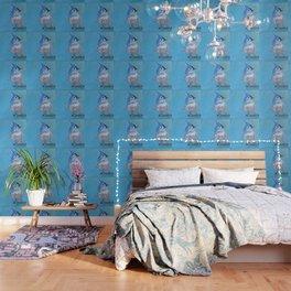 Little Blue Birdie Wallpaper