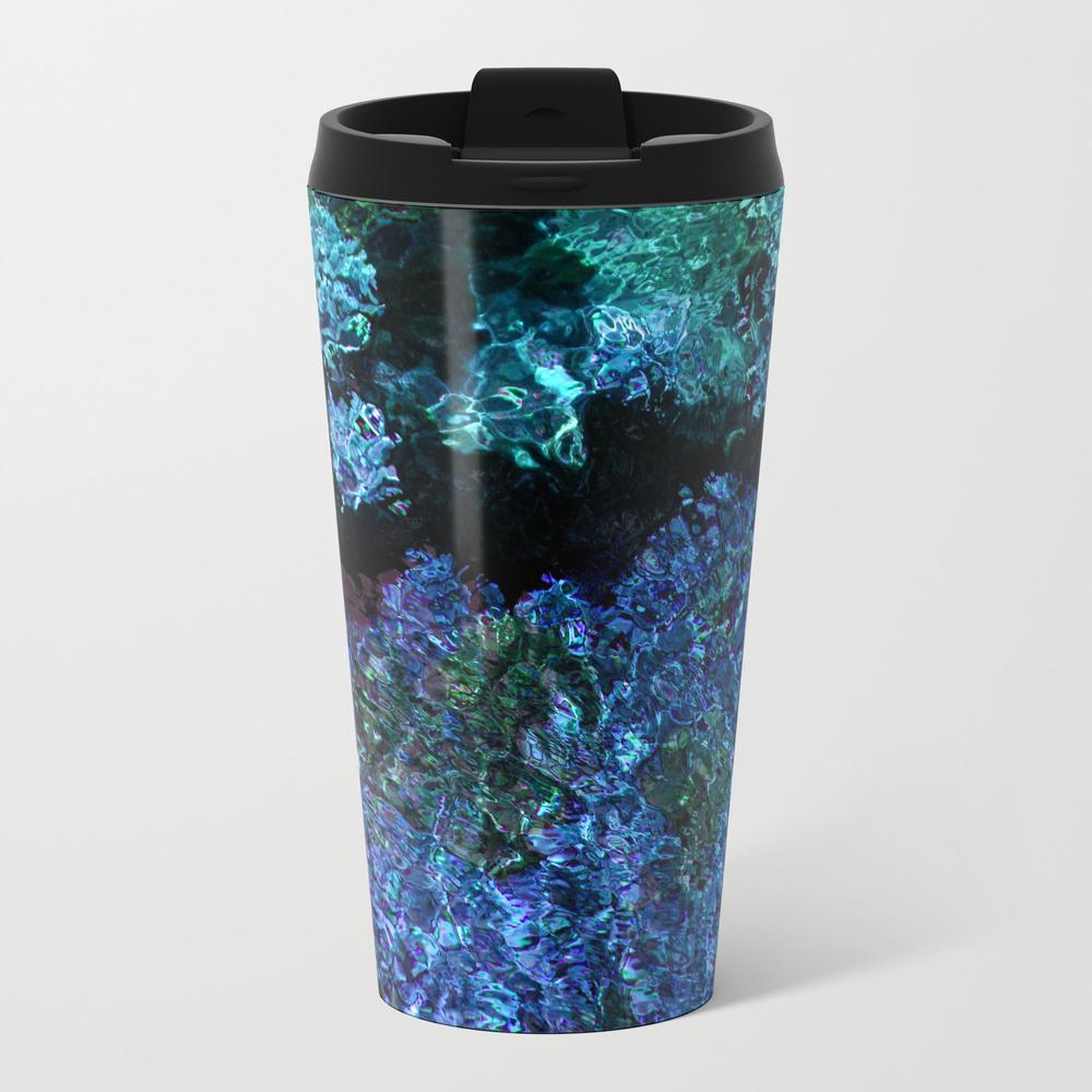 Deep Blue Metal Travel Mug by Jsdavies MTM8889507