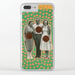 Vacanze Milanesi Clear iPhone Case