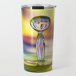 Colorful Splash Travel Mug