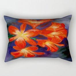 Cheerful clivia Rectangular Pillow
