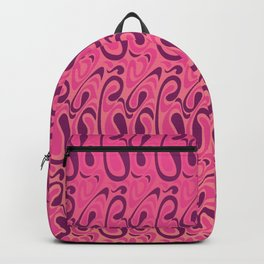 Swirl Whirl Pink Backpack