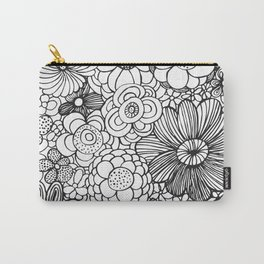 Floral vibe Carry-All Pouch