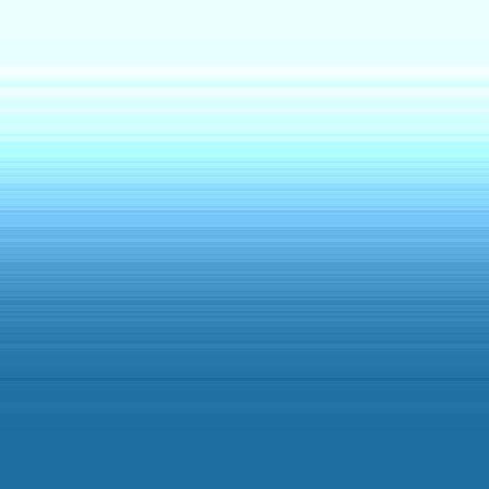 Sea blue Ombre Duvet Cover