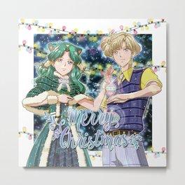 Merry Xmas Haruka & Michiru! Metal Print