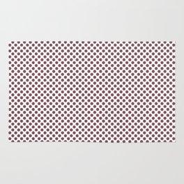 Crushed Berry Polka Dots Rug