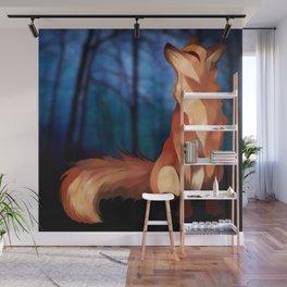 Wild At Heart Fox Wall Mural