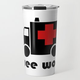 Ambulance Wee Woo Travel Mug