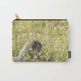 Hoary Marmot's Peek at Paradise Carry-All Pouch