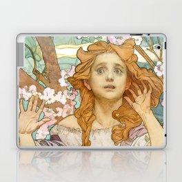 "Alphonse Mucha ""Maude Adams (1872–1953) as Joan of Arc"" Laptop & iPad Skin"