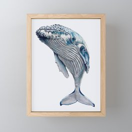 WHALE, WHALE, WHALE Framed Mini Art Print