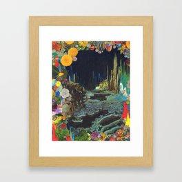 Cave Garden II Framed Art Print