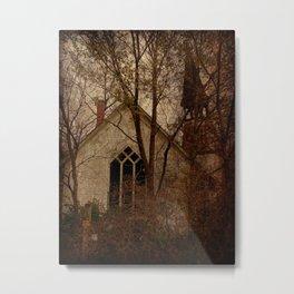 Abandoned Church Metal Print