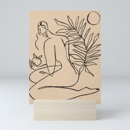 Summer lines V    Mini Art Print