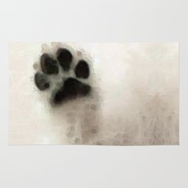 I Paw You - Dog Art By Sharon Cummings Rug