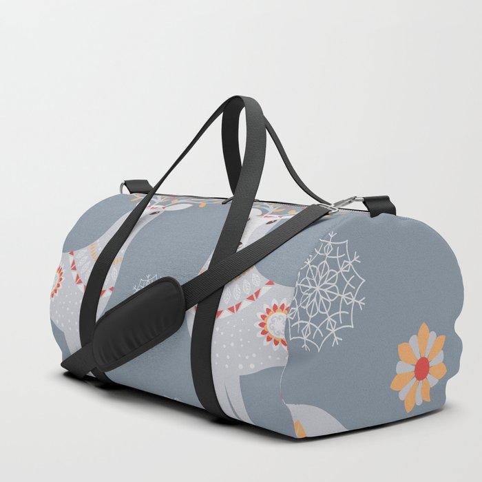 Nordic Winter Duffle Bag