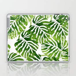 Tropical Leaves - Green Laptop & iPad Skin