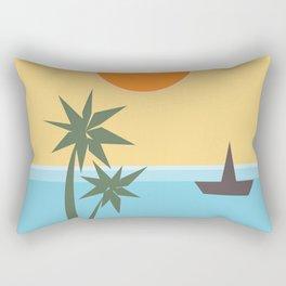 California Vibes Rectangular Pillow