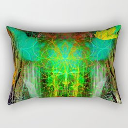 The Cooling Spirit of Autumn Rectangular Pillow