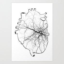 iheartCDG Art Print