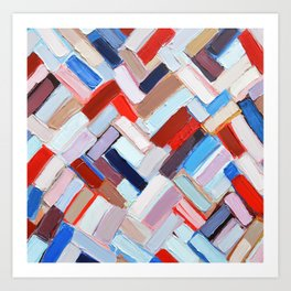 Internodal Construct Art Print