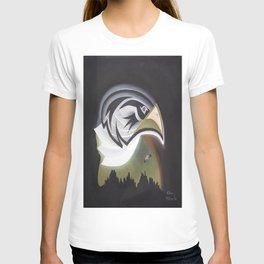 Eagle Rules the Moon T-shirt
