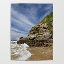 Paradise beach in Brasil Poster