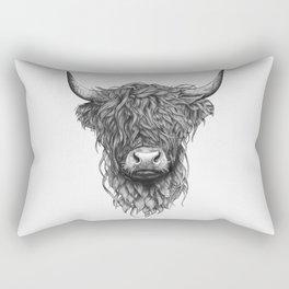 Highland Cow Rectangular Pillow
