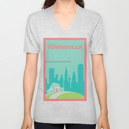 Welcome to Townsville Unisex V-Neck