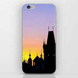 Sunrise at Karluv Most, Prague iPhone Skin