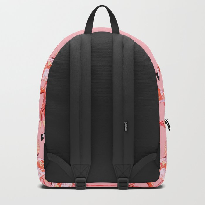 Flamingo & Sea Backpack