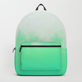Out of focus - cool green Backpack