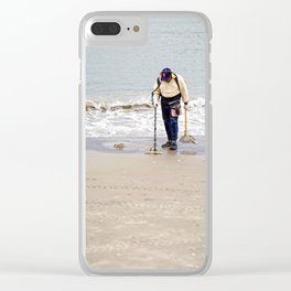 Searching for Treasure Clear iPhone Case