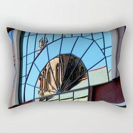My Favorite Church Window Rectangular Pillow