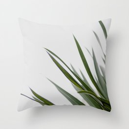 Botanical, Leaves Throw Pillow