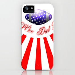 Who That? iPhone Case