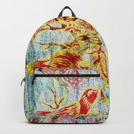 Birds Reflections Backpack