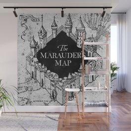 Marauders Map Wall Mural