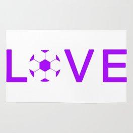Soccer Love Rug