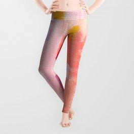 Put Sorrows In A Jar - abstract modern art minimal painting nursery Leggings