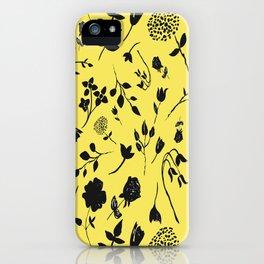 ink flower  iPhone Case