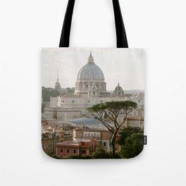 St. Peter's Basilica at Sunset Tote Bag